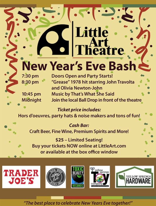 Little Art 2019 New Year's Eve Party